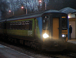 Class 156 train at Darsham