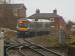 A Lowestoft bound service enters the 16 mile single track section north of Halesworth