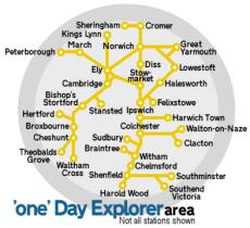 One Day Explorer area