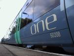 'one' train at Saxmundham