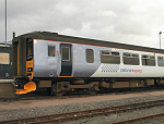 Class 156 train in new National Express East Anglia livery