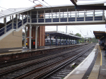 New footbridge and lifts at Ipswich station