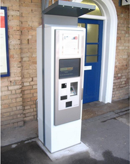 New ticket machine
