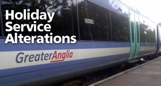 Holiday Service Alterations