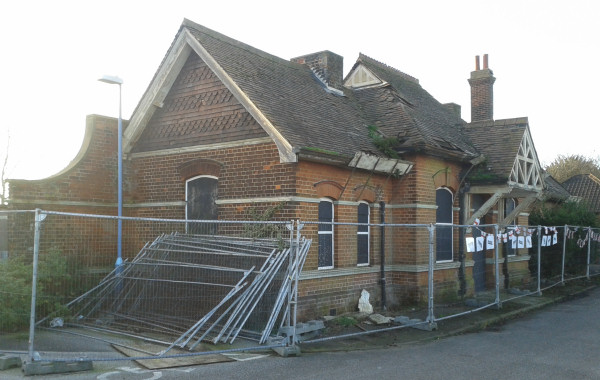 Trimley station building
