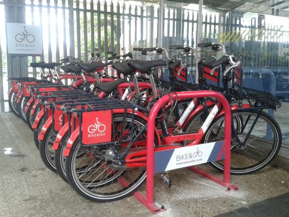 Bike & Go at Ipswich Station