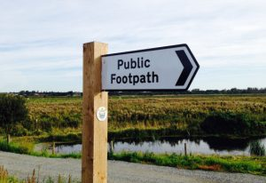 East Suffolk Line Walks waymarker