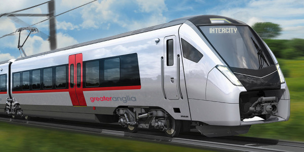 New Greater Anglia Stadler train