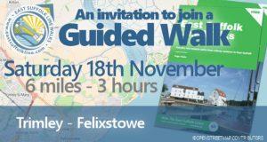 Guided Walk 18 November 2017 - Trimley to Felixstowe