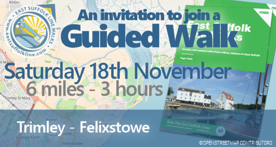 Guided Walk 18 November 2017 - Trimley to Felixstowe