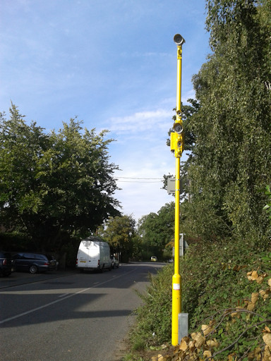Westerfield level crossing safety camera