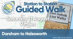 Guided Walk Saturday 11 August