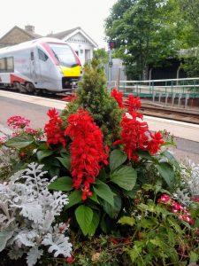 Saxmundham Station 6 July 2020