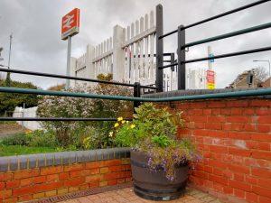 Halesworth Station floral displays - 12 November 2020