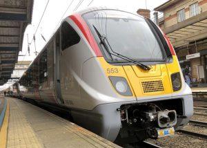 New Class 720 train at Ipswich 23 March 2021