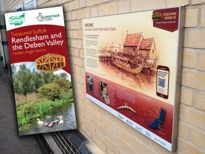 Anglo-Saxon board at Ipswich