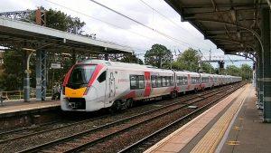 Intercity train at Ipswich