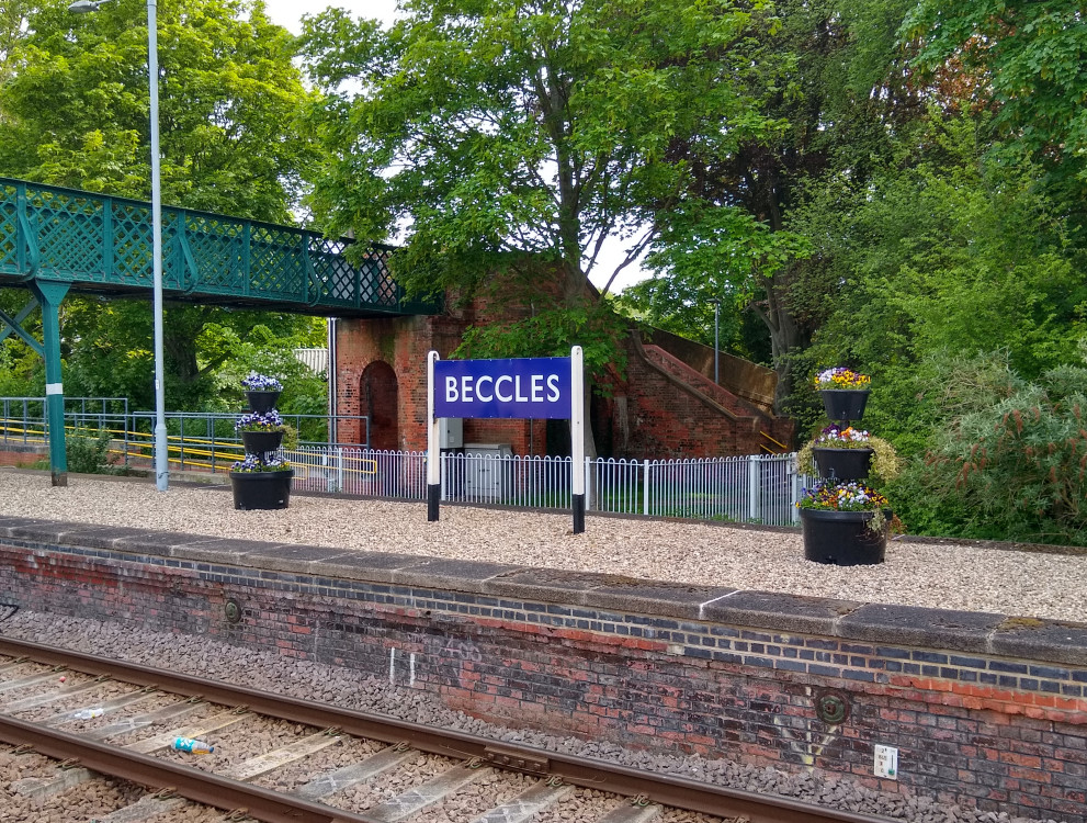 Beccles flowers 28 May 2021
