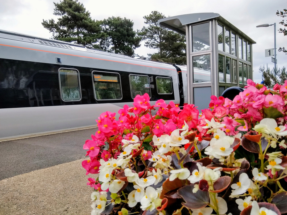 Derby Road Station flowers-12 August 2021