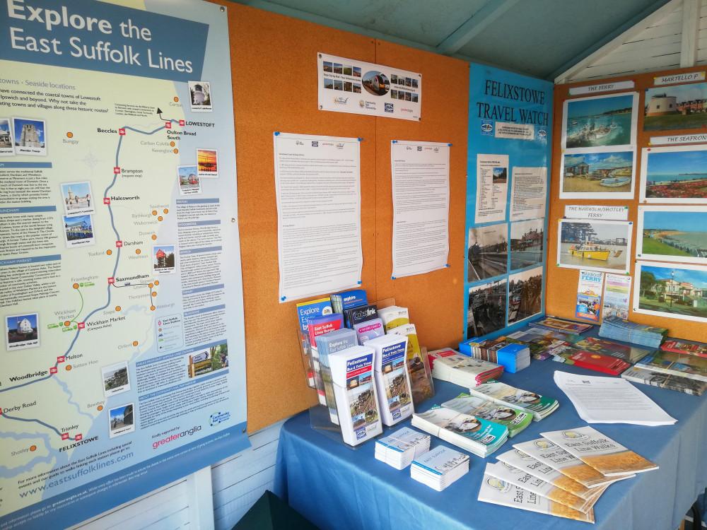 Exhibition at Visit Felixstowe Beach Hut