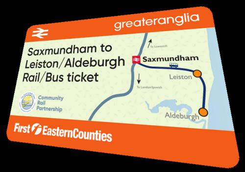 Leiston - Aldeburgh Rail Bus Ticket
